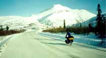 Travelling the Dempster Highway in Winter
