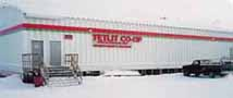 Tetlit Co-op Store in Fort McPherson